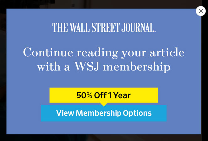 wall street journal 50 deal