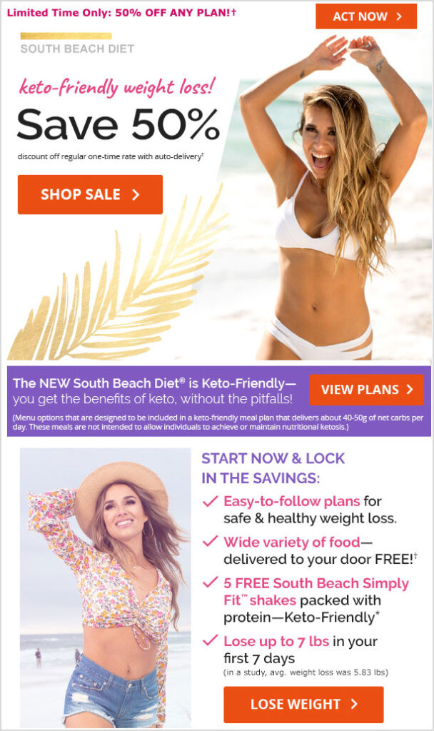 south beach diet 50 off coupon