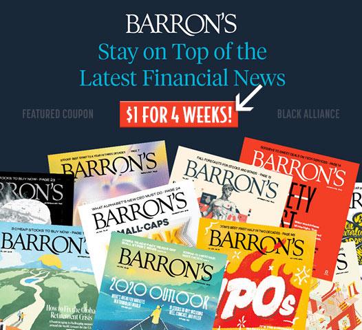 barrons dollar subscription offer