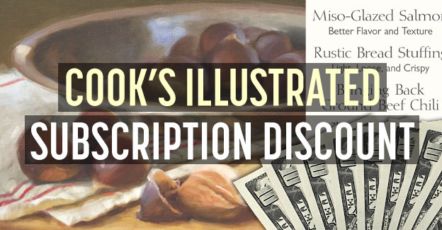 cooks illustrated subscription discount