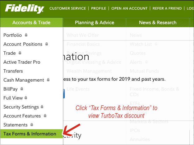 fidelity tax forms turbotax