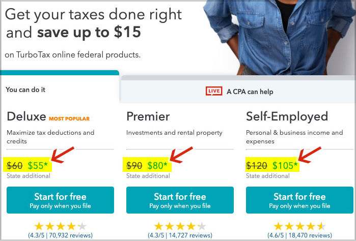 turbotax service code applied