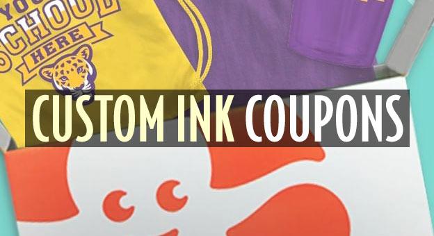 custom ink coupons