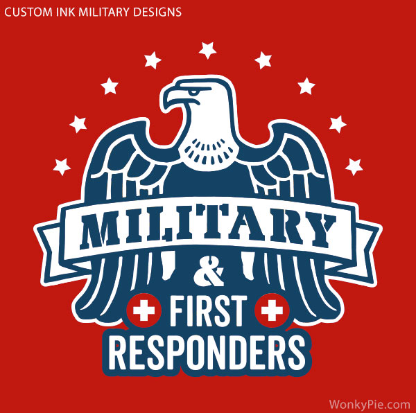 custom ink military discount