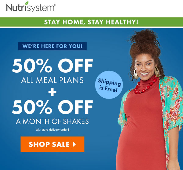 nutrisystem 50 off sale
