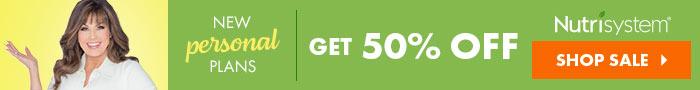 nutrisystem sale 50 banner