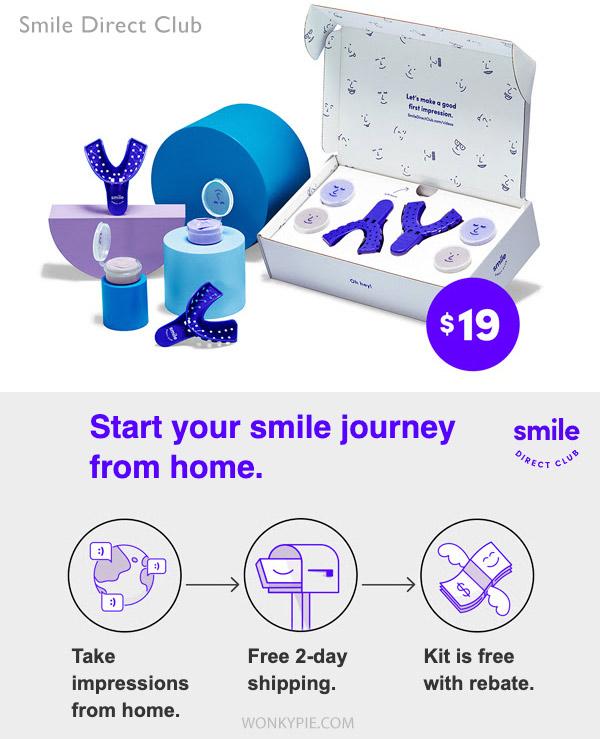 smile direct aligners coupon rebate