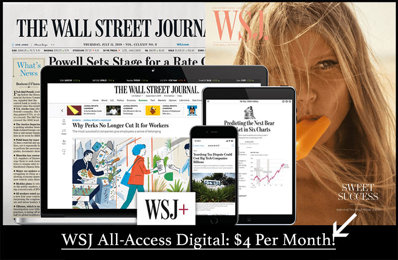best wsj digital deal