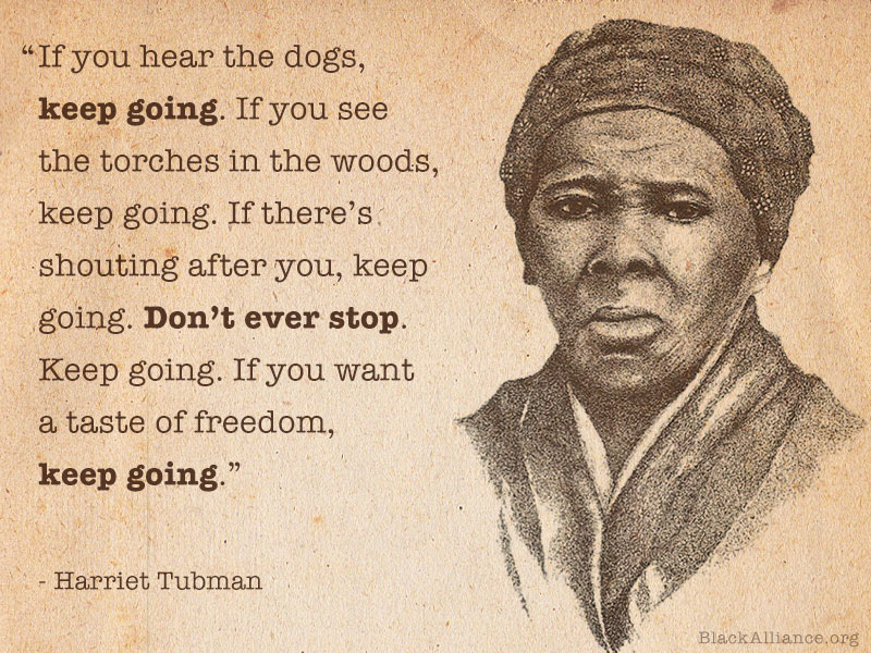harriet tubman quote freedom