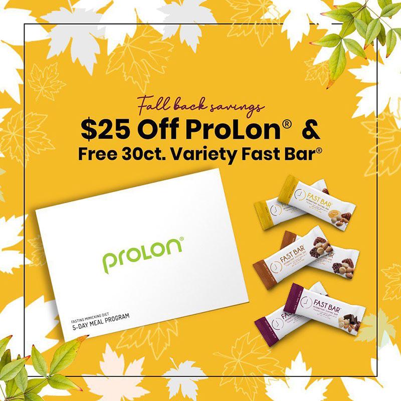 prolon diet 25 coupon