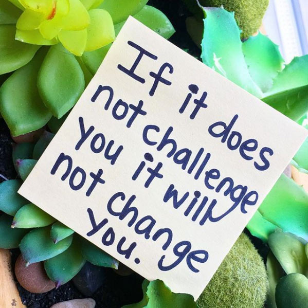 challenge you weight loss quote