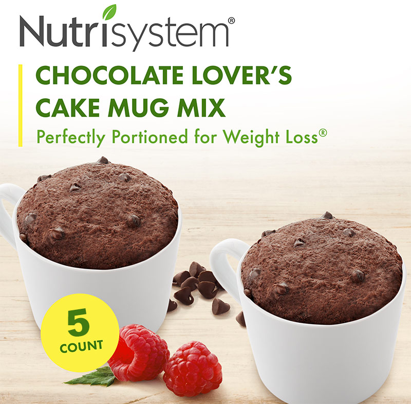 nutrisystem chocolate cake mug