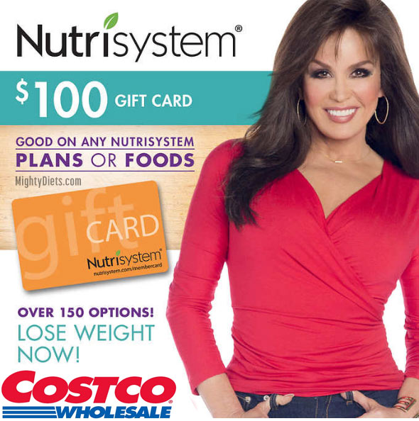 nutrisystem costco gift_card discount