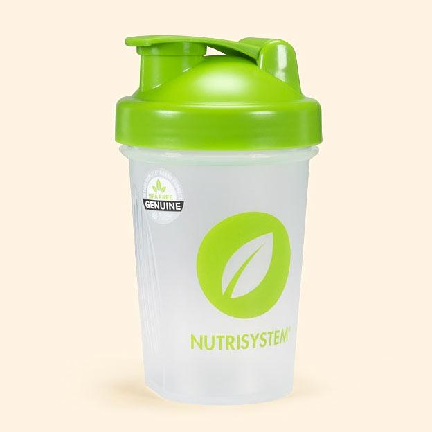 nutrisystem shaker bottle
