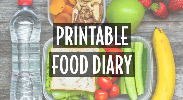 printable food diary