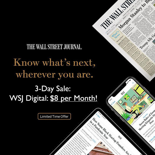wsj subscription deal day