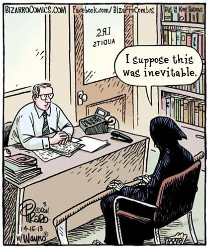 death taxes cartoon