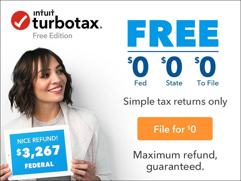 turbotax free edition state
