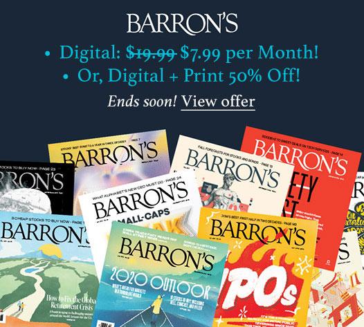 barrons promotion 799 month