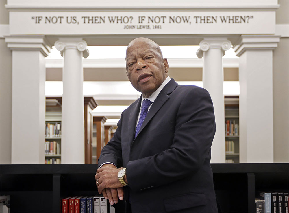 john lewis if not us quote