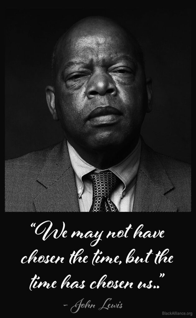 john lewis quote time