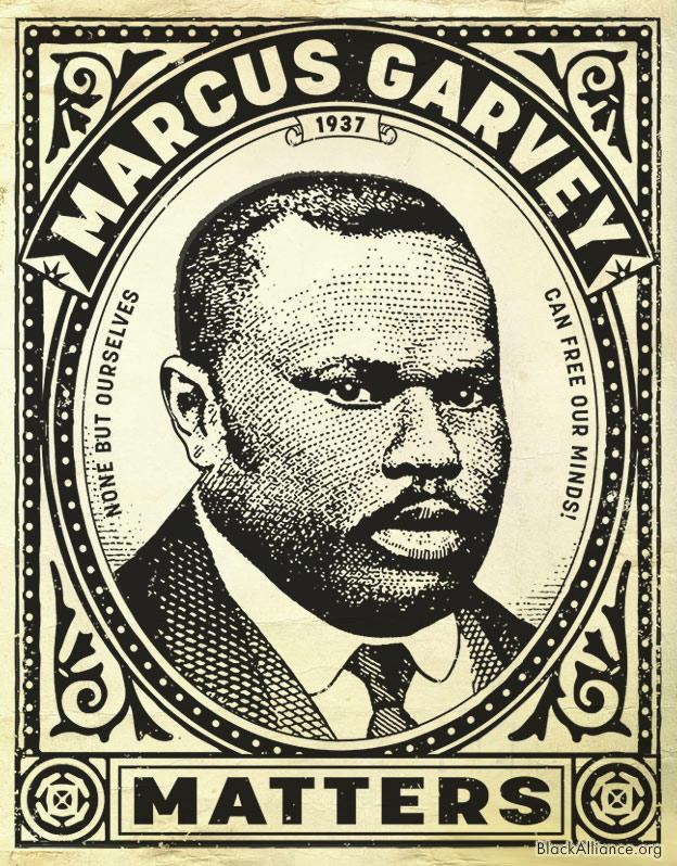 marcus garvey emancipate quote