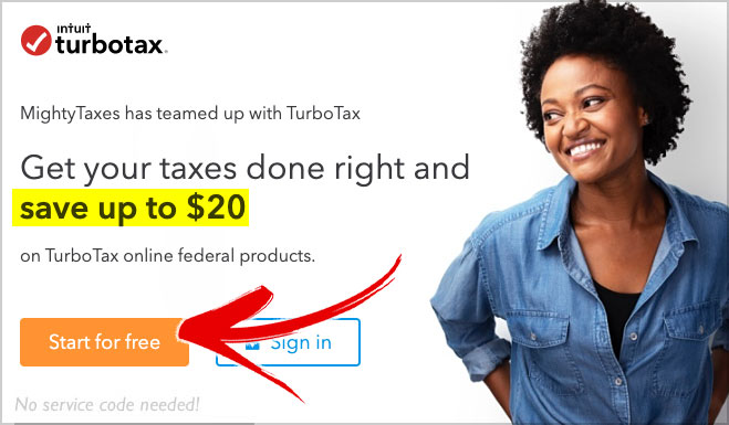 turbotax promotion code 20 off